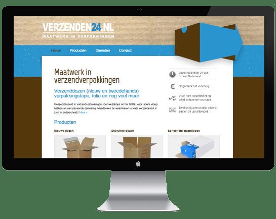 Verzenden24 Website